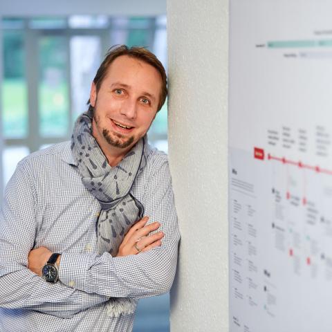 Interviewpartner Clemens Utschig-Utschig, CTO Boehringer Ingelheim. © Boehringer Ingelheim Pharma GmbH & Co. KG.